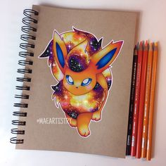 Flareon ✨❤️ ________ ‣ instagram.com/maeartistry ‣ facebook.com/marilynmaeart ‣ twitter.com/maeartistry ‣ maeartistry.tumblr.com