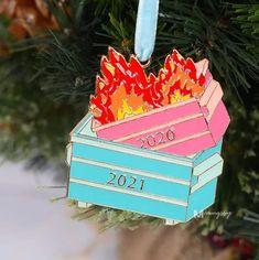 2021 Dumpster Fire Ornament