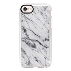 Gray Mistery Marble - iPhone 7 Case And Cover (125 BRL) ❤ liked on Polyvore featuring accessories, tech accessories, phones, phone cases, cases, electronics, iphone case, apple iphone case, iphone cases and iphone cover case
