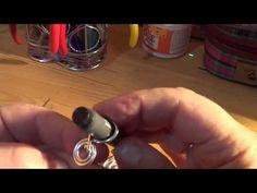 pulsera de alambre con cola de ratón