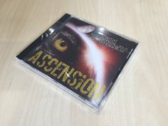 Ascension CD cover, insert booklet and inlay designed for rock guitarist Ian Toomey