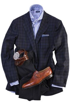 Shop Axel's peerless collection of luxury European and American- made Leather & Shearling Jackets, Premium Denim, Tailored Sport Coats, Belt Buckles, and more. Modern Mens Fashion, Best Mens Fashion, Mens Fashion Suits, Mens Suits, Der Gentleman, Gentleman Style, Stylish Men, Men Casual, Mens Tailor
