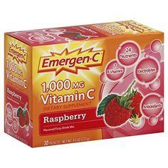 Alacer Emergen-C Vitamin C Fizzy Drink Mix Raspberry. >>> Check out this great product. (This is an affiliate link) Raspberry Drink, Mixed Drinks, Vitamin C, Superfoods, Energy Drinks, Link, Count, Room Ideas, Check