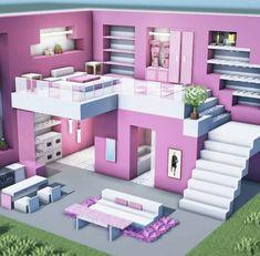 Minecraft House Plans, Minecraft Farm, Minecraft Mansion, Minecraft Cottage, Easy Minecraft Houses, Minecraft House Tutorials, Minecraft Modern, Minecraft Houses Blueprints, Minecraft House Designs