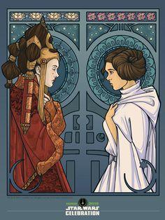 Padmé and Leia                                                                                                                                                                                 Mais