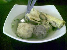 bakso malang ----- meat ball soup----one of my favourite food