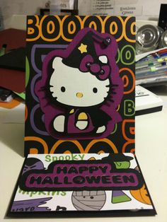Chrissy Lynn would love this for her Halloween/birthday invitations!
