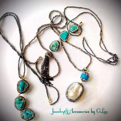 Beautiful Set.Real Turquoise.Turkish Jewelry.Gold14k. Marquesite.Beautiful Ring. #BeautifulJewelry#TurkishJewelry#HandMadeJewelry#GoldRing#Turquoise#Marquesite#JoyeriaHechaaMano#JewelryPhotography#ByGLouJewelry#