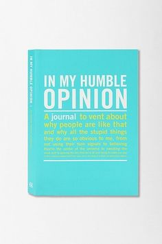 UrbanOutfitters.com > In My Opinion Mini Inner Truth Journal