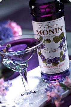 Violet Martini.