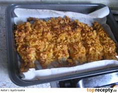 Ryba z trouby Fish And Meat, Meat Recipes, Lasagna, Banana Bread, Macaroni And Cheese, Ethnic Recipes, Desserts, Diet, Tailgate Desserts
