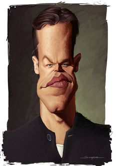 Matt Damon by Lucas Somariva | Caricature | 2D | CGSociety