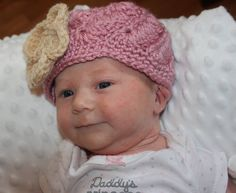 Baby Girl Swirl Beanie  FT024 by FischTales on Etsy