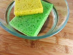 How to Use Vinegar to Sanitize Sponges and Scrub Brushes