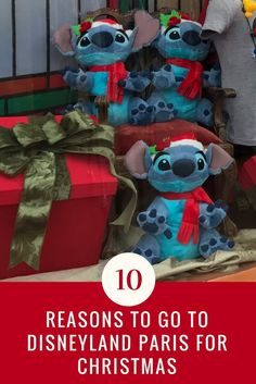 7 Reasons why YOU should go to Disneyland Paris this Christmas season! Find out about the magical shows and events happening in Disneyland & Walt Disney Studios Park in Paris during the holiday season. Enjoy the magic of Disney, the magic of Paris & the magic of Christmas! #disneylandparis #christmasinparis #DisneyChristmas