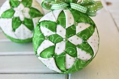 The Ornament Girls Club – Quilted Ornament Kit of the Month