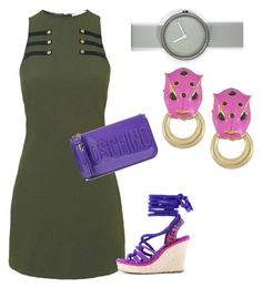 """Untitled #1"" by ana-maria-mayo-rincon on Polyvore featuring Rare London, Moschino, Christian Dior, Nava and Ciner"