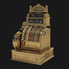 vintage national cash register max