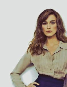 Keira Knightley. She is so beautiful. Love every movie i've seen her in.