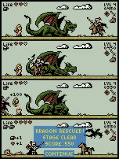 Rescue the Dragon Game by ObinSun.deviantart.com on @deviantART
