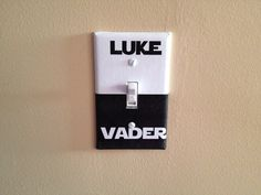 Star Wars Luke Vader Dark Side Light Switch Covers Wallplates Switchplates Home Decor Outlet 14 STYLES AVAILABLE