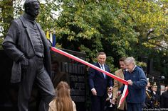 Wojciech Korfanty statute unveiling in Warsaw, Poland w my Daddy, Felix Korfanty, on Warsaw Poland, My Daddy, Polish, History, Vitreous Enamel, Historia, Nail, Nail Polish, Nail Polish Colors