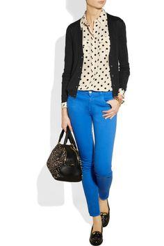Miu Miu|Cashmere and silk-blend cardigan|NET-A-PORTER.COM