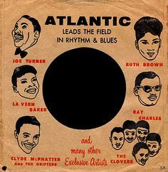 ... rhythm and blues leader! Atlantic record sleeve