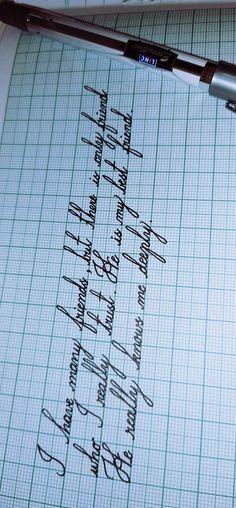 Handwriting Examples, Cursive Handwriting Practice, Improve Your Handwriting, Cursive Alphabet, Handwriting Styles, Bullet Journal Writing, Bullet Journal Ideas Pages, Perfect Handwriting, Pretty Writing