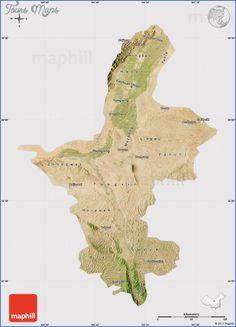 awesome Ningxia Map