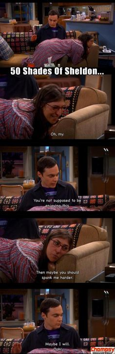 sheldon cooper spanks Amy Ferrah Fowler funny big bang theory
