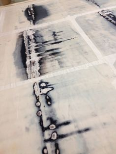 Helen Terry- screen mono-printing techniques.