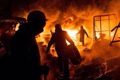 Manifestation Kiev by Volodymyr Shuvayev