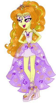 #1142982 - adagio dazzle, artist:geovanaalmeida327, base used, clothes, dress, equestria girls, gala dress, rainbow rocks, safe, solo - Derpibooru - My Little Pony: Friendship is Magic Imageboard