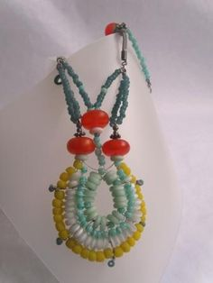 exotica, recycled glass beads