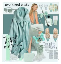 """""""Oversize Coat"""" by dns328 on Polyvore featuring Calypso St. Barth, Young, Fabulous & Broke, Chanel, The Hand & Foot Spa, A.X.N.Y., Valentino and Emporio Armani"""
