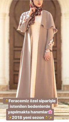 Stylish Dresses, Simple Dresses, Abaya Fashion, Fashion Dresses, Moslem Fashion, Modele Hijab, Fancy Dress Design, Mode Abaya, Iranian Women Fashion