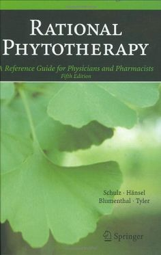 Rational Phytotherapy: A Reference Guide for Physicians and Pharmacists: 9783540408321: Medicine & Health Science Books @ Amazon.com