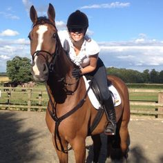 Welcome to our new consultant, Camilla! Here's a photo of Camilla and her horse. #horse #showjumping #recruitment #love