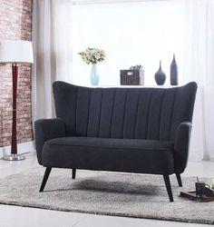 Moderne og delikat Mayfair 2-seter sofa i mørk grå. Sofaen har høy rygg som gir god støtte.Mål:Lengde 145 cmHøyde 103 cmDybde 88 cmVekt:Ca 32 kgMateriale:89�0Polyester - 11�0LinFarge:Stoff - mørk gråBen - svartVedlikehold:Vi anbefaler bruk avColourlock Universal Protector med silikon. Produktet inneholder UV-filter mot solbleking og virker antistatisk, fiberforsterkende og nuppehemmende.Tips, råd og annen informasjon:Varen krever enkel montering av ben.Tenk over h...