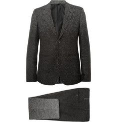 45efea3adef Raf Simons Grey Slim-FIt Degradé Check Wool-Blend Suit