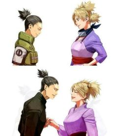 Omg shikamaru is so damm cute ughhhhhh Temari is so damm lucky. I know it's an anime but still. My husband has to be like exactly like shikamaru. He is so FUCKING cutee😩😩😍 Naruhina, Naruto Uzumaki, Naruto Art, Gaara, Sasuke, Naruto Couples, Naruto Girls, Anime Couples, Shikadai