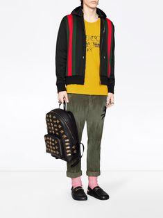 9633224e7ec3 Gucci Animal studs leather backpack #fashion #pandafashion #backpack #gucci