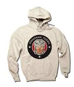 Jonathan Toews Officially Licensed NHLPA Chicago Men's Hoodie S-3XL Jonathan Toews 3 Stars R