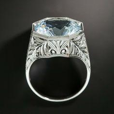 Deco Engagement Ring, Gemstone Engagement Rings, Antique Engagement Rings, Antique Rings, Antique Jewelry, Vintage Jewelry, Art Deco Diamond Rings, Art Deco Ring, Diamond Wedding Rings