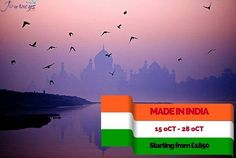 Visit http://journeysforall.co.uk/made-in-india/ for more information.