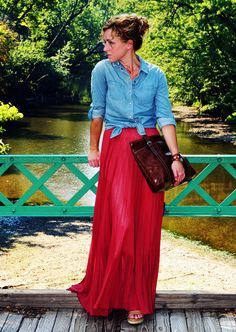How to Style Your Maxi for Cooler Weather by Kristina at Clothed Much Modest Fashion Blog
