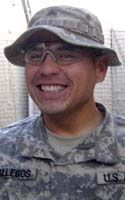 Army Staff Sgt. Justin T. Gallegos  Died October 3, 2009 Serving During Operation Enduring Freedom  27, of Tucson, Ariz.; assigned to the 3rd Squadron, 61st Cavalry Regiment, 4th Brigade Combat Team, 4th Infantry Division, Fort Carson, Colo.; died Oct. 3 in Kamdesh, Afghanistan, of wounds suffered when enemy forces attacked his contingency outpost with small arms, rocket-propelled grenade and indirect fires.
