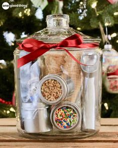 47 Cute Mason Jar Gifts for Teens - Best Trend Fashion - Cute DIY mason jar gift ideas for teens – DIY ice cream party in a jar – best Christmas gifts, - Mason Jar Gifts, Mason Jar Diy, Gift Jars, Gifts In Jars, Creative Gifts, Unique Gifts, Creative Ideas, Innovative Ideas, Cadeau Surprise