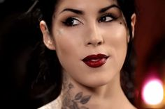 Ombre Lip How To by Kat Von D | K is for Kinky